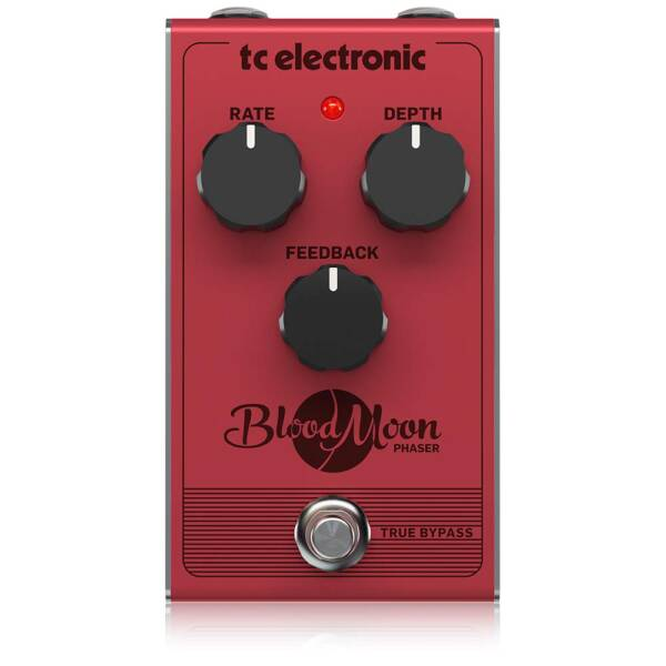 TC Electronic red BLOOD MOON PHASER