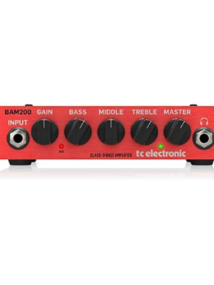 TC Electronic's BAM200 red color Head amplifier